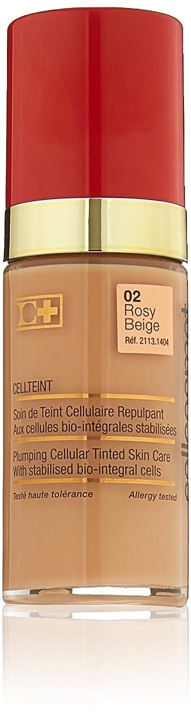 比率理解仲間Cellcosmet & Cellmen Cellcosmet CellTeint Plumping Cellular Tinted Skincare - #02 Rosy Beige 30ml/1.1oz並行輸入品