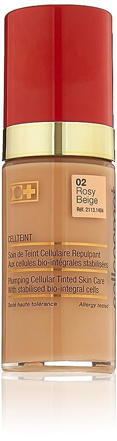 忠実バスケットボールジョージハンブリーCellcosmet & Cellmen Cellcosmet CellTeint Plumping Cellular Tinted Skincare - #02 Rosy Beige 30ml/1.1oz並行輸入品