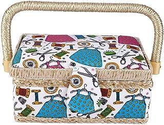 裁縫箱 裁縫セット 260°調整可能 二重層収納 ミシンツール 内蔵機能 手編み ミシン 糸針 はさみボックス 多用途 持ち運びやすい