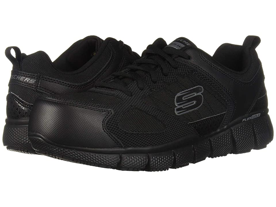 SKECHERS Work Telfin (Black) Men