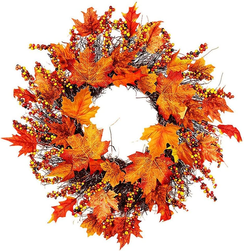 Shikick Fashion Home Popular brand in the world Decor Discount mail order Halloween Leaf Maple Artificial