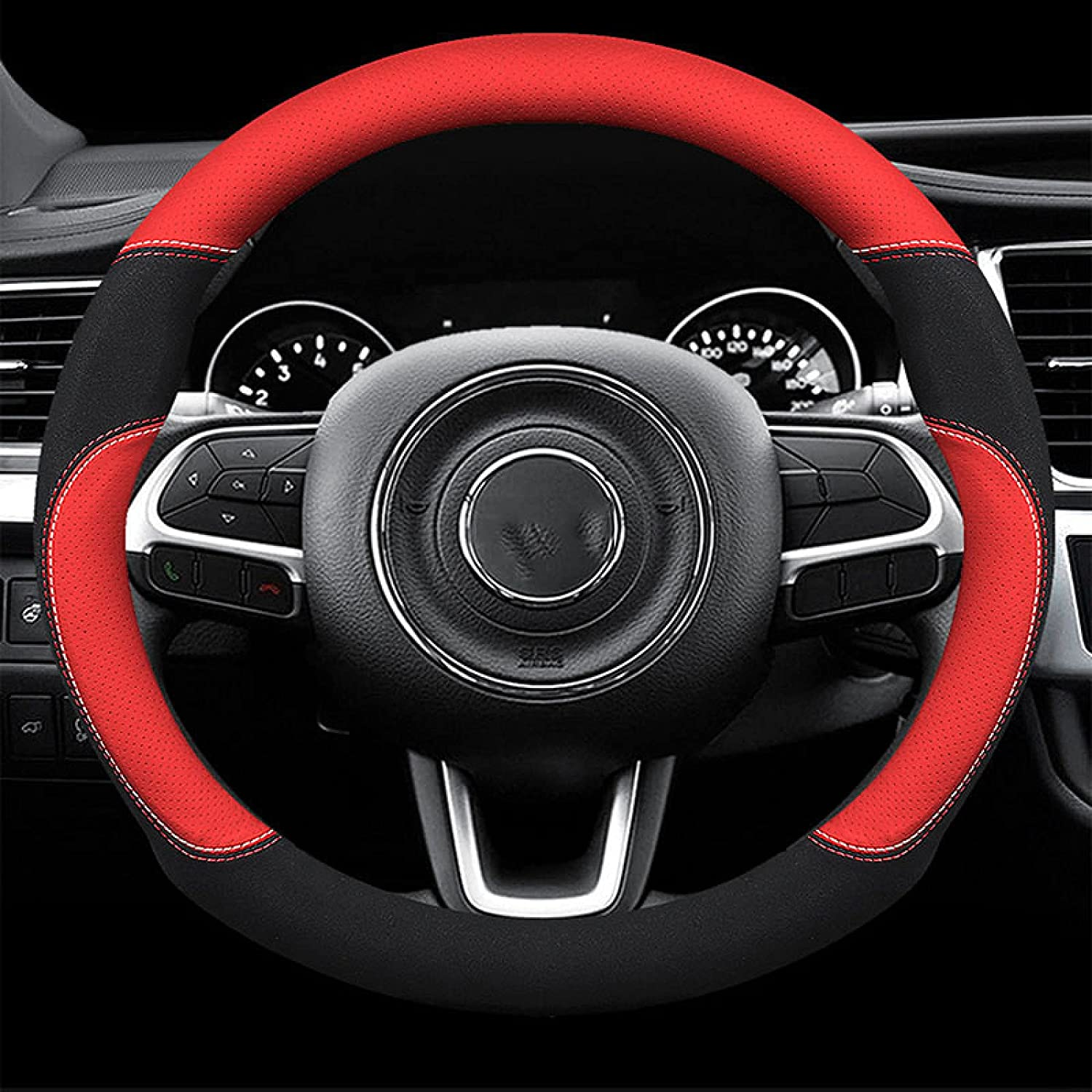 Pangtyus 3D Steering Limited time sale Wheel Covers for Jeep All Models St car Lowest price challenge Car