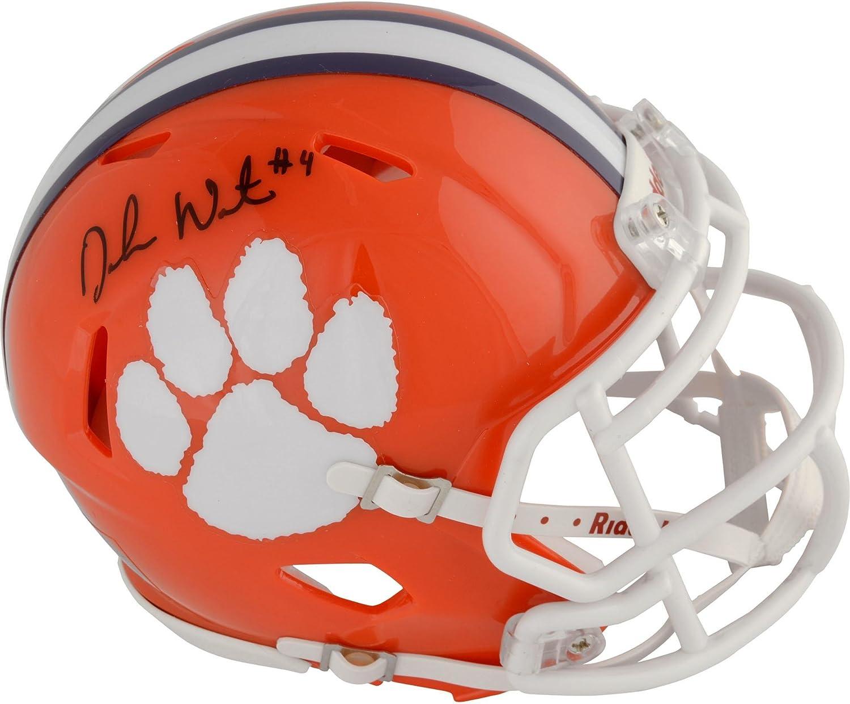 Deshaun Watson Clemson Tigers Autographed Riddell Speed Mini Helmet  Fanatics Authentic Certified  Autographed College Mini Helmets