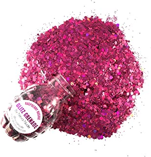Neva Nude Face and Body Glitter Keychain - Holographic Chunky Loose Glitter for Festivals, Raves, and More   Cosmetic Grad...
