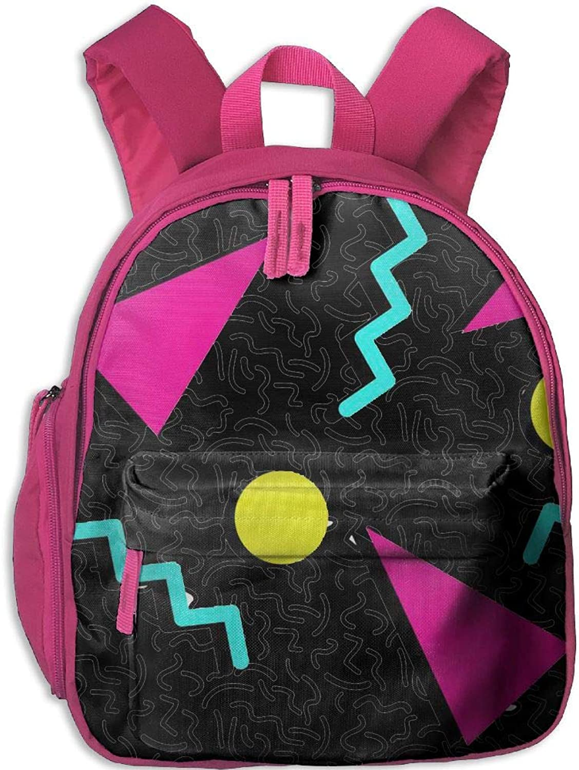 Pinta 80s Memphis Cub Cool School Book Bag Backpacks for Girl's Boy's