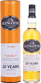 Glengoyne 10 Years Old Highland Single Malt Scotch Whisky, 700 ml