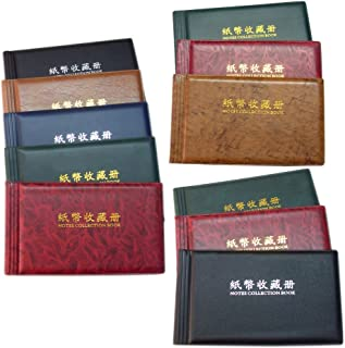 Generic 30 Openings Coins Album Coin Holder Pocket Album Book Collecting Money Penny Storage Portable Random Colors