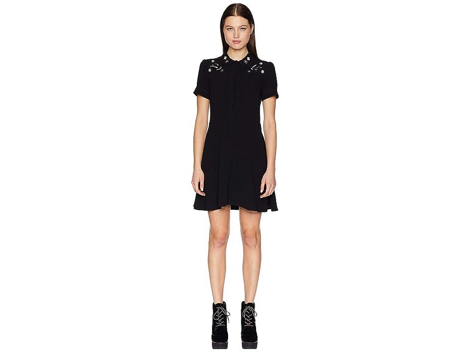 McQ School Dress (Darkest Black) Women