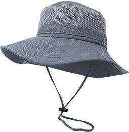 Hommes Femmes Bobs Large Bord Chapeaux De Pêche D'