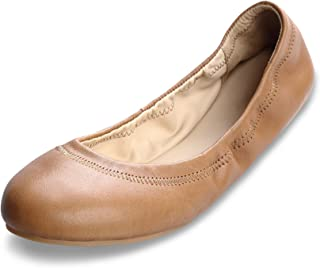Xielong Womens Chaste Ballet Flat Lambskin Loafers Casual Ladies Shoes Leather
