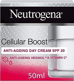 Neutrogena Face Cream, Cellular Boost, Anti-Ageing Day Cream SPF 20, 50ml
