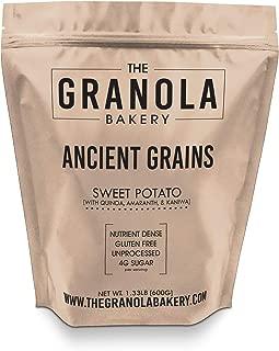 Granola Bakery - Ancient Grain Sweet Potato Granola, 1.33lb Bulk Bag - Healthy Gluten Free Low Sugar Breakfast Cereal (Organic Oats, Chia, Flax, Coconut)