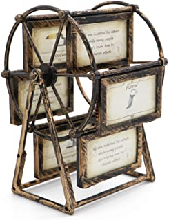 MLADEN Retro Vintage Family Photo Frames DIY Ferris Wheel Rotatable Windmill Plastic..
