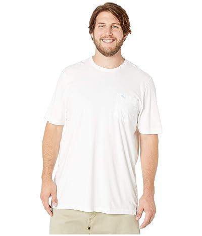 Tommy Bahama Big & Tall Big Tall New Bali Skyline T-Shirt (White) Men