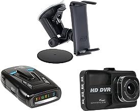Whistler KITWHI14VR73M5 CR73 Laser Radar Detector (D14VR 1080p/720p HD Dash Cam and Arkon's Slim-Grip Ultra Robust Base Mo...