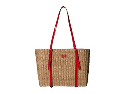 Frances Valentine Large Chloe Tote (Natural) Handbags