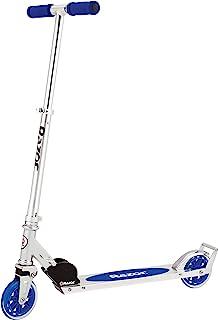 Razor A3 Kick Scooter for Kids – Larger Wheels, Front Suspension, Wheelie Bar,..