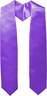Unisex Adult Plain Graduation Stole 60