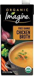 Imagine Organic Free-Range Chicken Broth, 32 oz.