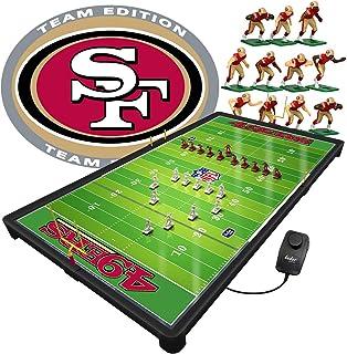 مجموعة ألعاب تيودور 9092-15 NFL سان فرانسيسكو 49ers NFL برو السلطانية الكهربائية لعبة كرة القدم، متعددة الألوان (عبوة من 98)
