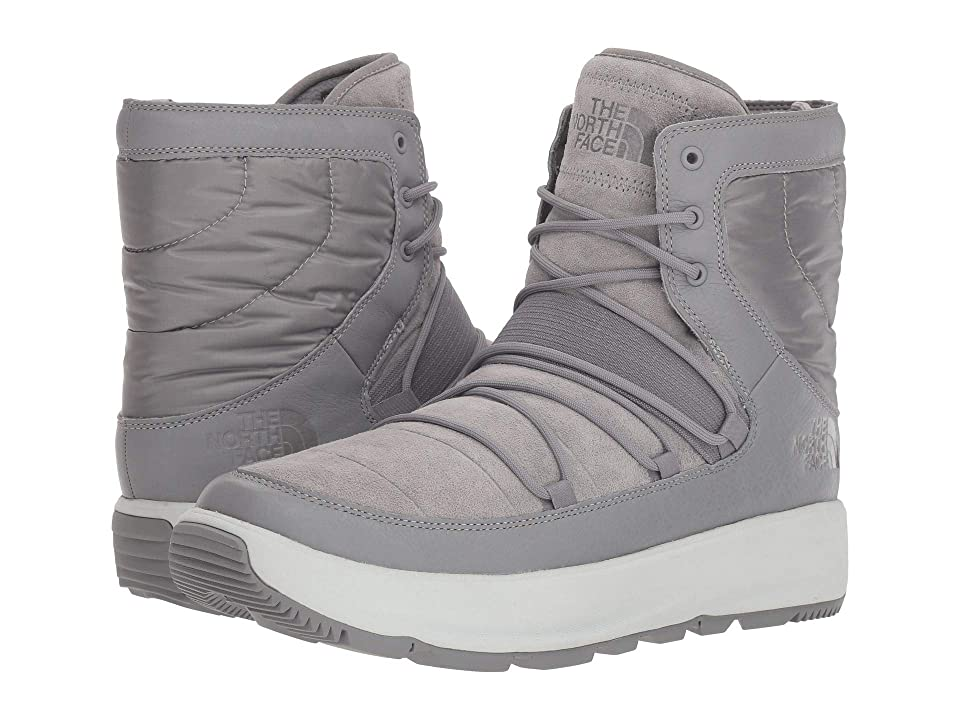 The North Face Ozone Park Winter Boot (Frost Grey/Tin Grey) Men