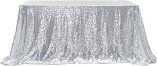PartyDelight Sequin Tablecloth, Rectangular, 60