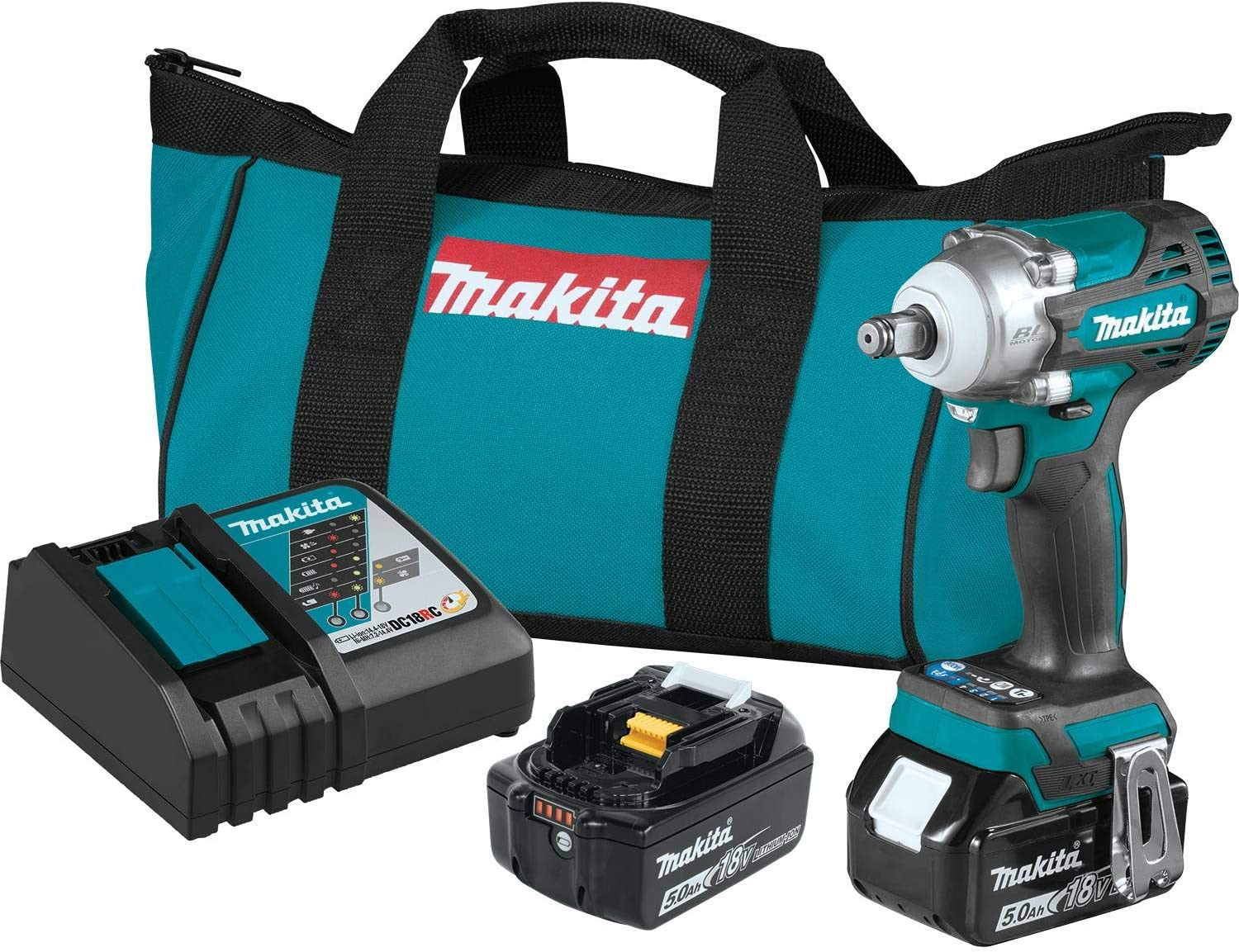 Makita XWT14T 18V LXT Max 86% OFF Lithium-Ion 2 4-Speed 1 Bombing free shipping Brushless Cordless