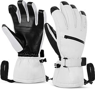 comprar comparacion Unigear Guantes de Esquí Impermeable Super CálidoCalientes Nieve Snowboard Pantallas Táctiles Anti-Viento Antideslizante...