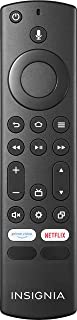 Insignia - Fire TV Edition Replacement Remote for Insignia and Toshiba - Black