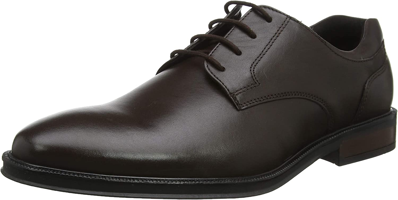 Hotter Men's Oxfords, Brown Dark Brown 17, 9