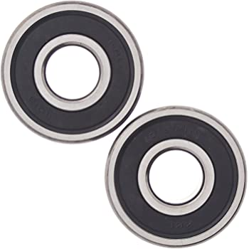 Compatible Harley Davidson Many Vehicles. XiKe 25-1691 Front Wheel Bearing Kit//With ABS