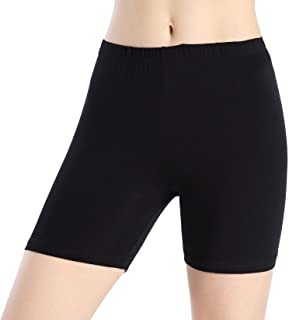 Women Under Dress Tight Shorts Stretch Short Pants Thin Yoga Leggings Fitness