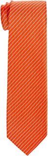 Retreez Stylish Pin Stripes Woven Boy's Tie - 8-10 years - Various Colors