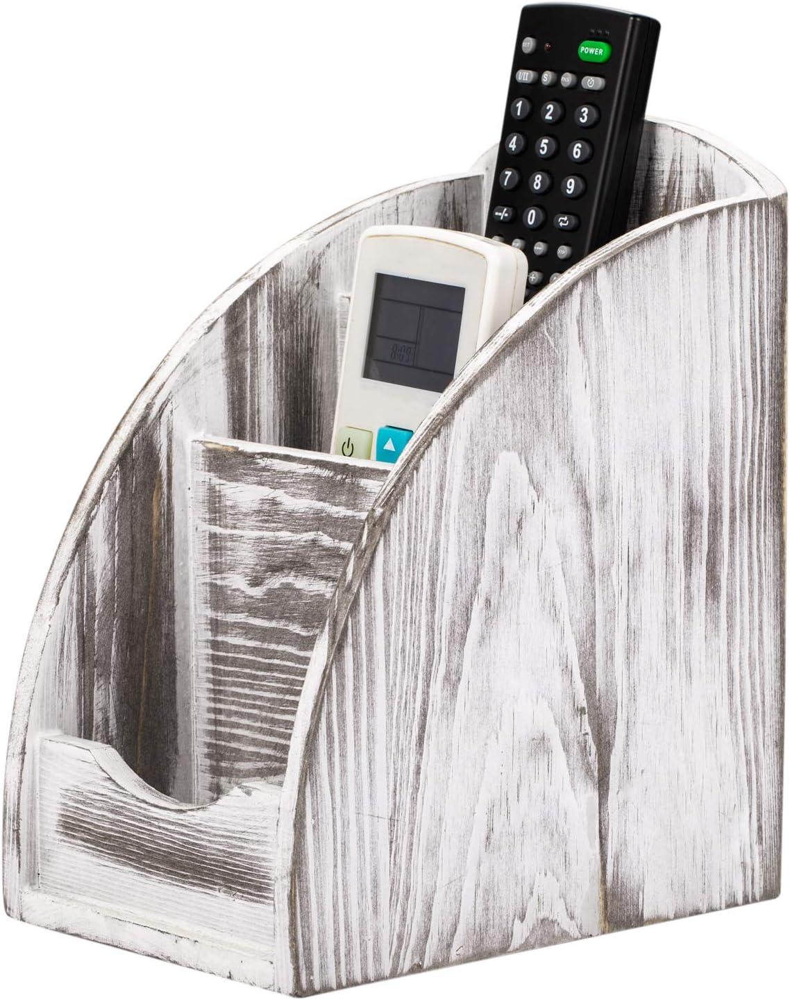 NEX Classic Remote San Diego Mall Control Holder 3 Me Wooden Slot Caddy
