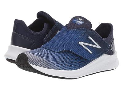 New Balance Kids Fresh Foam Fast (Little Kid) (Light Aluminum/Team Royal/Pigment) Boys Shoes