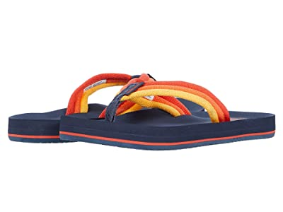 Reef Kids Ahi Beach (Little Kid/Big Kid) (Navy Sunset) Boys Shoes