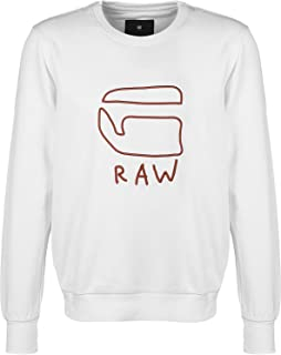G-Star Raw Mens Embroidered Sweatshirt