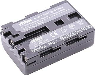 vhbw Batería Li-Ion 1200mAh (7.2V) para cámara Sony Video Walkman DCR-TRV340 DCR-TRV350 DCR-TRV38 DCR-TRV39 y NP-FM30 NP-FM50 NP-FM70.