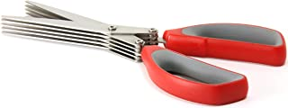 "Westcott 8"" All Purpose Shredder Scissor, Red"