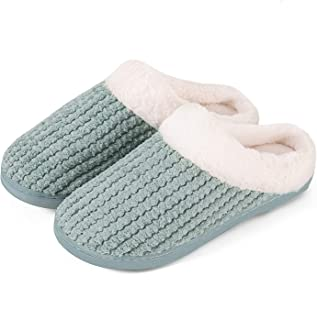 Inverno Pantofole Donna Uomo Ciabatte Peluche Scarpe da Casa Morbido Antiscivolo Caldo Comode Memoria Schiuma Pantofole pe...