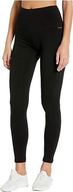Cotton/Spandex Basics Full Length Leggings
