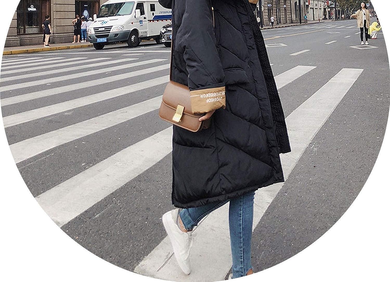 Fur Collar Hooded Winter Down Coat Jacket Long Thick Warm Casaco Feminino Wadded Parkas