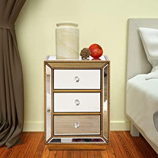 Best large nightstand with drawers Reviews