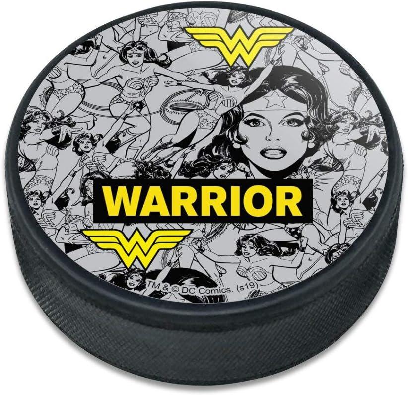 GRAPHICS  MORE Wonder Woman Warrior Pattern Ice Hockey Puck