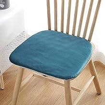Almofada para cadeira Almofada para cadeira de pelúcia supermacia, almofada antiderrapante, almofada de assento decorativa...