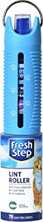 Fresh Step Roll N' Refresh Lint Roller with Air/Fabric Freshener Spray | 75 Sheets Pet Hair Lint Roller | Pet Multipurpose...
