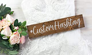 Wedding Hashtag Sign, Instagram Sign for Wedding