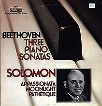 Solomon - Beethoven: Appassionata, Moonlight & Pathétique Sonatas - Seraphim - 60286 - United States - - Very Good Plus (VG+)/Near Mint (NM or M-) - LP, Album