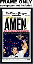 The Times Picayune - New Orleans Saints Newspaper Frame