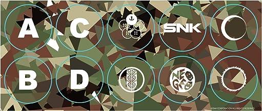 SNK Arcade Stick Pro Camo Button Stickers - Neo Geo Pocket